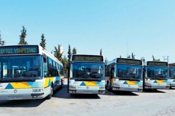 Στάση εργασίας την Πέμπτη για τα λεωφορεία!