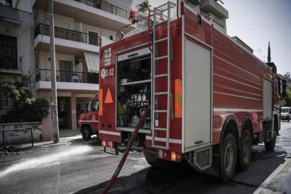 Πήρε φωτιά διαμέρισμα στο Χαλάνδρι!