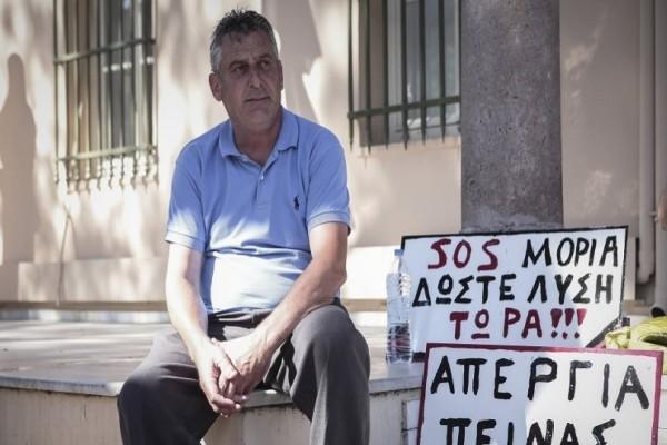 Μυτιλήνη: Συνεχίζει για τρίτη ημέρα την απεργία πείνας ο πρόεδρος της Μόριας!