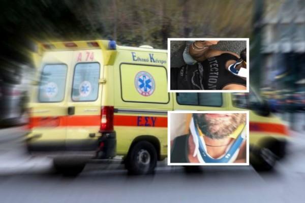Είδηση - σοκ: Θύμα τροχαίου και εγκατάλειψης πασίγνωστος Έλληνας ηθοποιό! (photos)