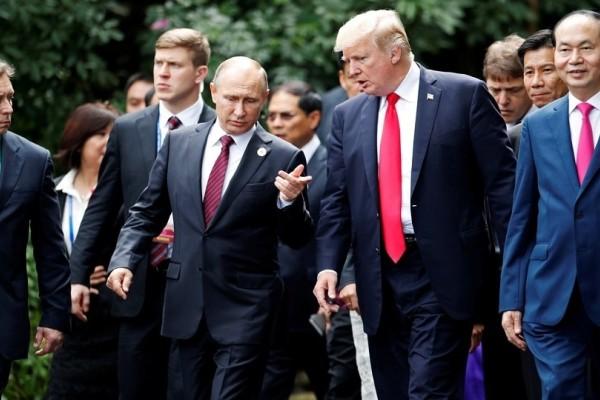 Στις 16 Ιουλίου στο Ελσίνκι η συνάντηση Τραμπ-Πούτιν!