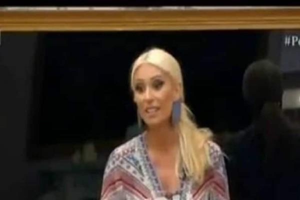 Power of Love: Ο Σωκράτης έβγαλε από τα ρούχα της τη Μπακοδήμου! Αποχώρησε από το πλατό η παρουσιάστρια! (video)