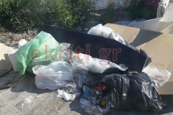Χαμός στην Κρήτη: Πήγαν να πετάξουν τα σκουπίδια τους και αντίκρισαν ένα...φέρετρο!