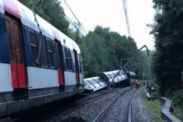 Γαλλία: Επτά τραυματίες έπειτα από ανατροπή τρένου! (video)