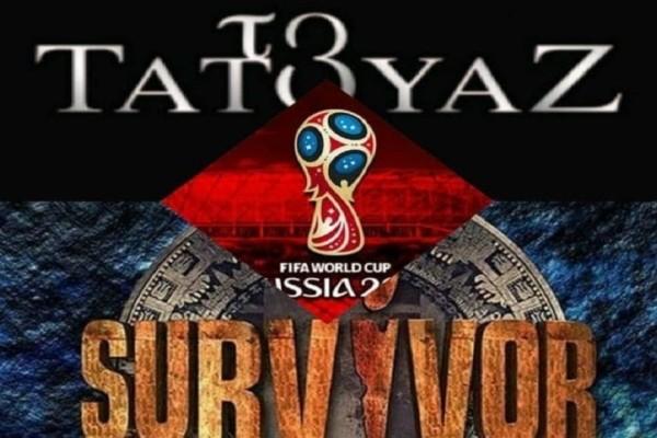 Prime time: Μάχη στην τηλεθέαση για Survivor - Τατουάζ - Μουντιάλ! Ποιο πρόγραμμα κατάφερε να κόψει το νήμα;