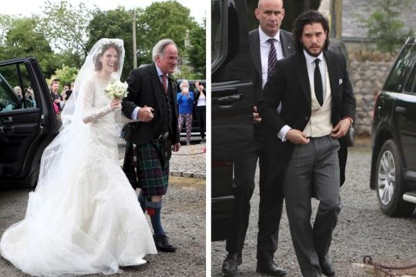Γάμος αλά Χόλιγουντ: Παντρεύτηκαν ο Τζον Σνόου και η Ινγκριντ του Game of Thrones! (photos)