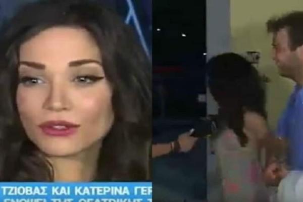 Κατερίνα Γερονικολού: Σταμάτησε άρον άρον τις δηλώσεις κι έφυγε! Τι συνέβη; (Βίντεο)