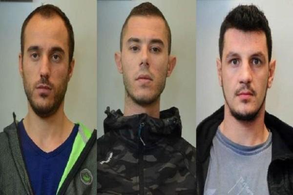 Δραπέτες Α.Τ Αργυρούπολης: Αυτοί είναι οι τρεις Αλβανοί κακοποιοί! (Photo)