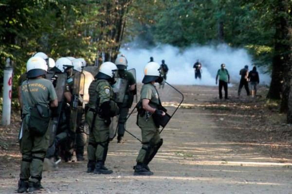 Αθωώθηκαν πέντε άτομα για τα επεισόδια στις Σκουριές