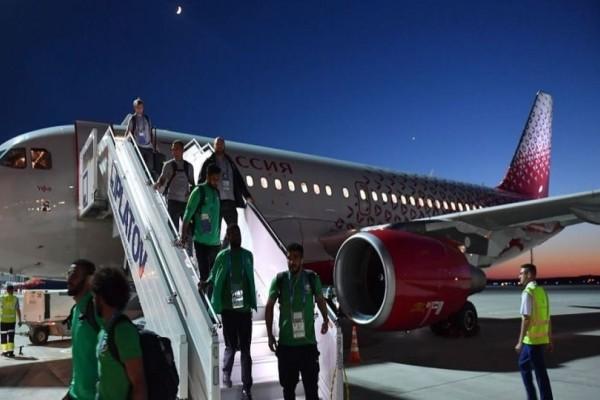 Εφιαλτικές στιγμές: Φωτιά στο αεροπλάνο της Εθνικής Σαουδικής Αραβίας!