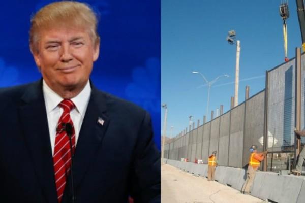 Τραμπ: Ξεκίνησε το τείχος στο Μεξικό!