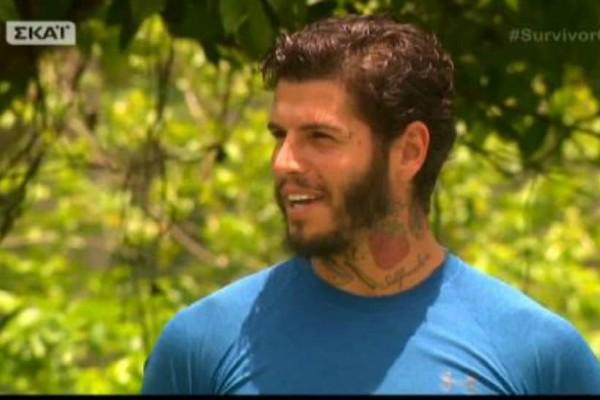 Survivor 2: Μυστήριο με την μπλούζα του Αγόρου! Τι αποκάλυψε ο Μαχητής... (video)