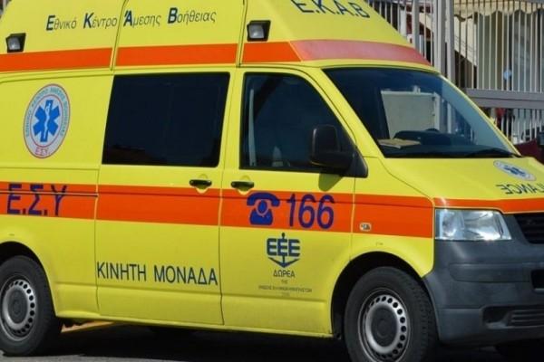 Τρίκαλα: Άνδρας έπεσε από τον πέμπτο όροφο πολυκατοικίας!
