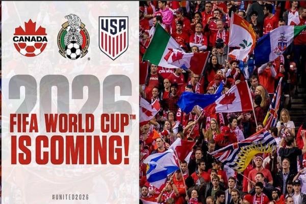 Σε τρεις χώρες της Αμερικής το Μουντιάλ 2026!