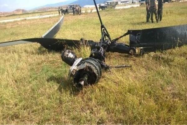 Μαγνησία: Σοβαρό ατύχημα με ελικόπτερο της Αεροπορίας Στρατού!