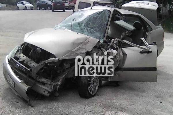 Τροχαίο στην Εθνική Πατρών-Πύργου: Τρεις τραυματίες!