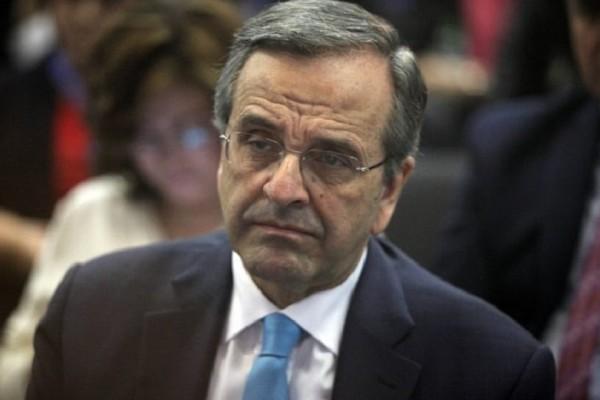 Σκοπιανό: Για αχρείαστο και ταπεινωτικό συμβιβασμό κάνει λόγο ο Αντώνης Σαμαράς!