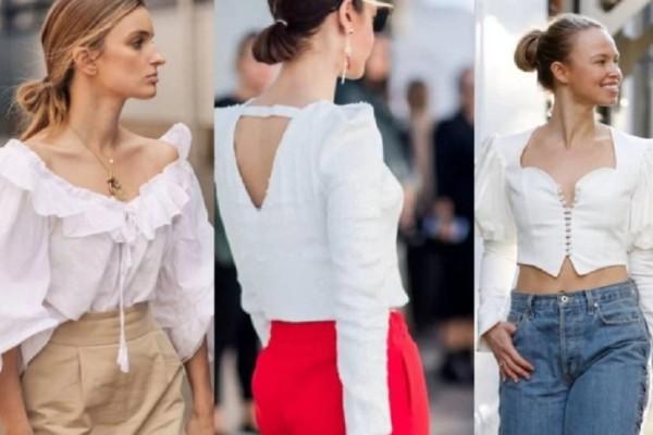 5 λευκά μπλουζάκια που έχουν αποκτήσει μεγάλη φήμη αυτό το καλοκαίρι!