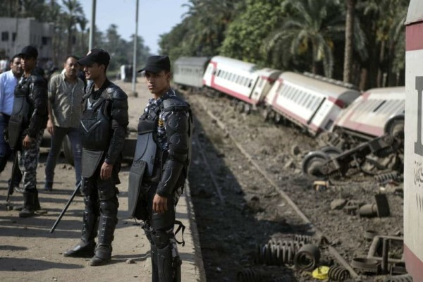 Αίγυπτος: Υπό κράτησε ο οδηγός τους τρένου