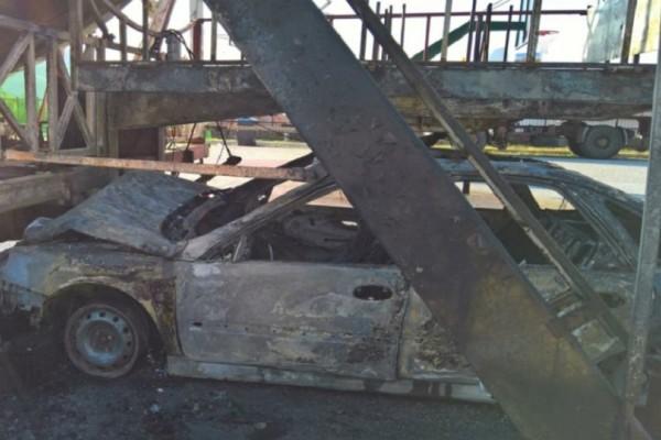 Πανικός σε λούνα παρκ στην Κοζάνη – Αυτοκίνητο καρφώθηκε σε παιχνίδι και πήρε φωτιά (video)