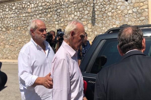 Αποφυλακίστηκε ο Άκης Τσοχατζόπουλος: