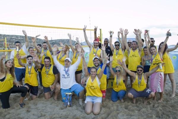 H AMSTEL Radler Lemon «ανοίγει διάθεση» και φέτος για beach volley!