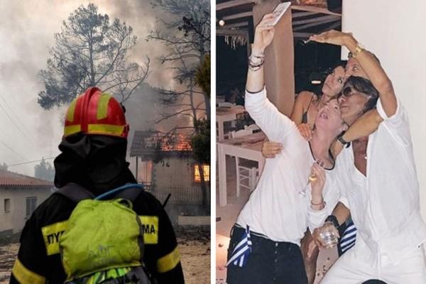 Αποκλειστικό: Δύο μέρες πριν την πυρκαγιά ο Δήμος Μαραθώνα είχε... προετοιμασίες για το χλιδάτο πάρτι του Ψινάκη!