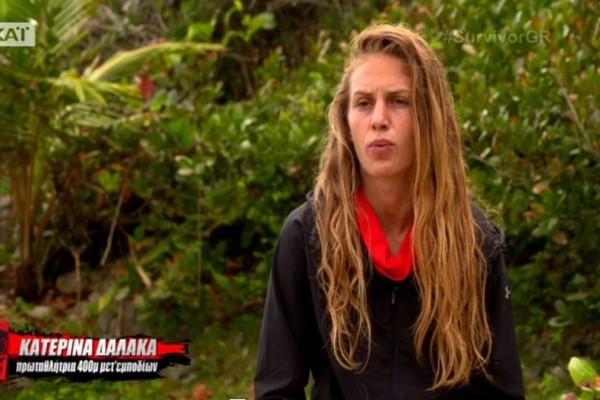 Survivor - βόμβα: Εκτός ημιτελικού η Κατερίνα Δαλάκα;