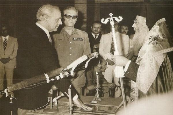 Σαν σήμερα στις 23 Ιουλίου το 1974 κατέρρευσε η επτάχρονη δικτατορία της 21ης Απριλίου