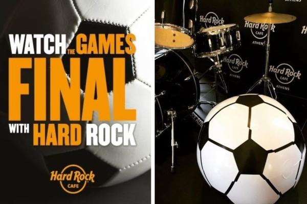 Τελικός Μουντιάλ; Που αλλού; Στο Hard Rock Cafe!