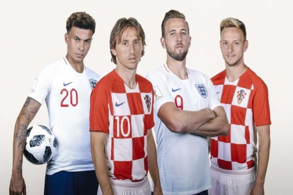 Μουντιάλ 2018: Κροατία - Αγγλία για μια θέση στον τελικό!