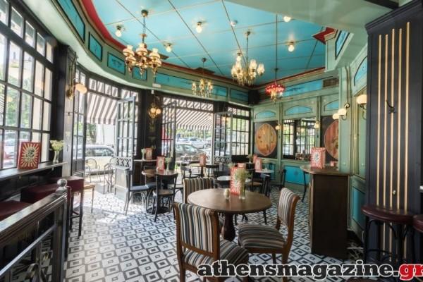 Η κομψή μπρασερί στο Παγκράτι που έγινε γνωστή για τα φινετσάτα πιάτα της και την signature coctail list της!