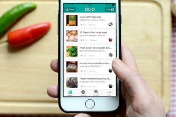 Olio: Μια εφαρμογή για να σταματήσουμε να πετάμε τρόφιμα!