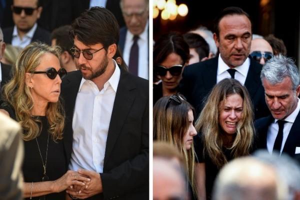 Κηδεία Σωκράτη Κόκκαλη: Υποβασταζόμενη η Ελένη Κόκκαλη από τον γιο της, Κωνσταντίνο! Συντετριμμένος και ο Πέτρος Κόκκαλης!