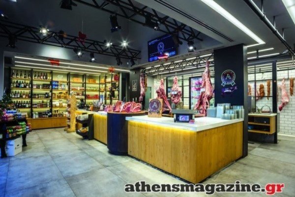 Aggelis Meatworks: Τhe butcher shop which looks more like... a boutique!