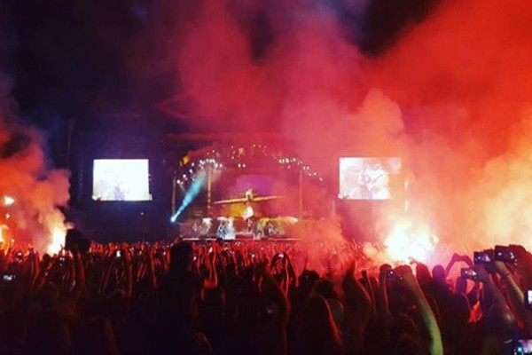 Terra Vibe Park: Οι Iron Maiden «έβαλαν φωτιά» στην Μαλακάσα! (videos)