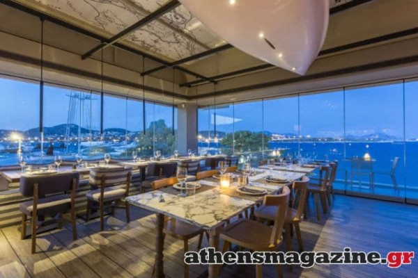 Moorings: In the Marina of Laimos Vouliagmenis