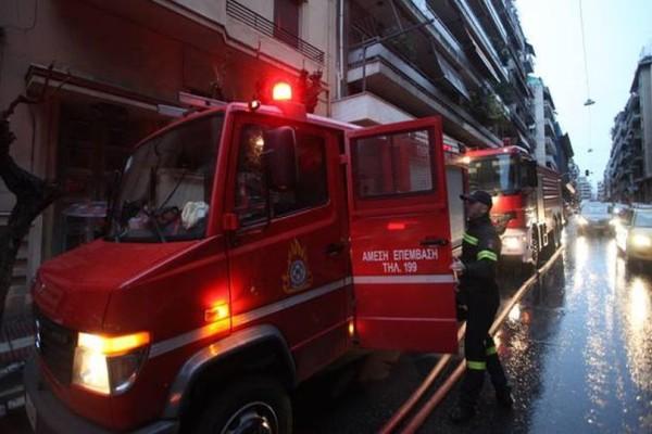 Συναγερμός στο κέντρο της Αθήνας: Πυρκαγιά σε διαμέρισμα!