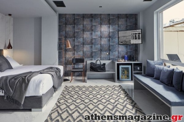 To urban boutique ξενοδοχείο με industrial style σας περιμένει στην καρδιά του Ψυρρή!
