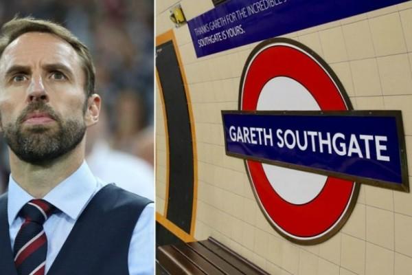 Μουντιάλ 2018: Έδωσαν σε σταθμό του Μετρό στο Λονδίνο το όνομα του Σαουθγκέιτ!