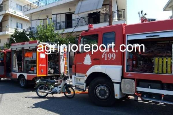 Αγρίνιο: Φωτιά σε σπίτι από άγνωστη μέχρι στιγμής αιτία - Στο νοσοκομείο 57χρονος