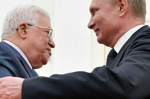 Συνάντηση Πούτιν-Αμπάς στη Μόσχα στο Κρεμλίνο
