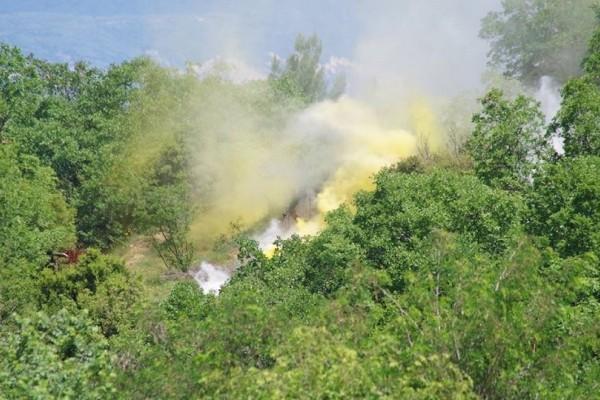 Σέρρες: Βούλγαρος προσπάθησε να κάψει δάσος!