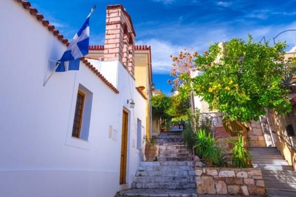 Το AFP περιγράφει μια γειτονιά στην καρδιά της Αθήνας που θυμίζει ελληνικό νησί!
