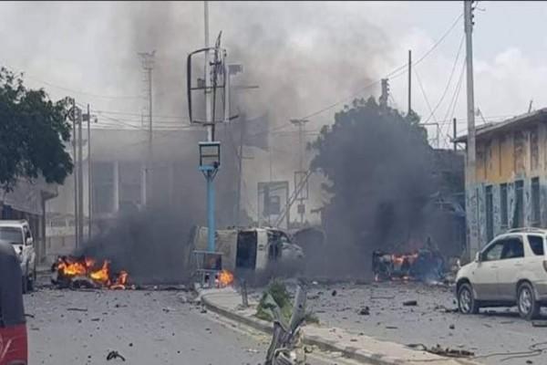Σομαλία: Τρομοκρατική επίθεση με 12 νεκρούς στο υπουργείο Εσωτερικών!