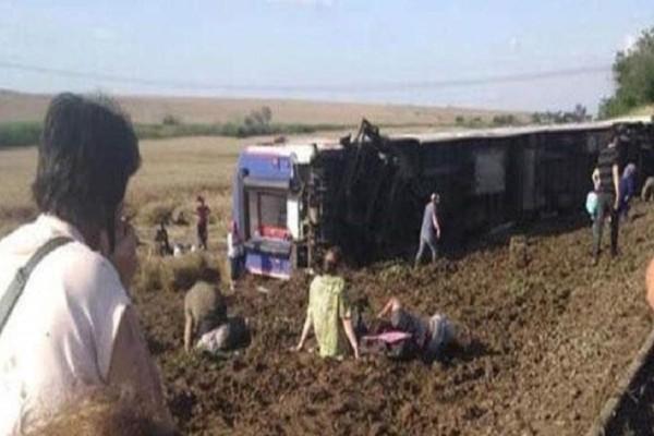 Τουρκία: Εκτροχιάστηκε τρένο - Πολλοί νεκροί και τραυματίες!