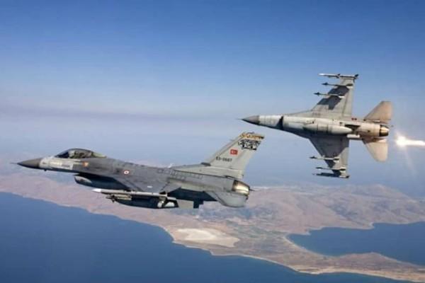 Παραβιάσεις και αερομαχίες από τουρκικά αεροσκάφη στο Αιγαίο, πριν τη Σύνοδο του NATO