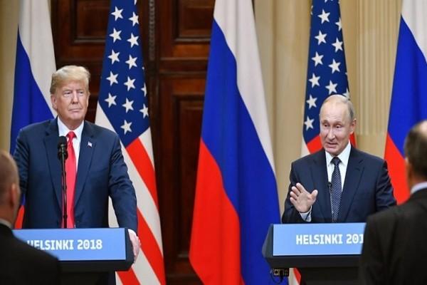 Δηλώσεις ενότητας και συνεργασίας από Τραμπ και Πούτιν!