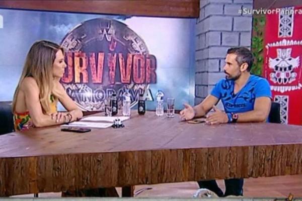 Survivor Panorama: Ο Πάνος Θεοδώρου μιλά για την χειρονομία στη Δαλάκα και αδειάζει την Μελίνα: