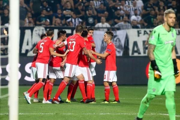 Champions League: Διέλυσε τον ΠΑΟΚ και το όνειρο του η Μπενφίκα! (video)